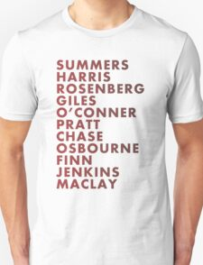 Buffy The Vampire Slayer All Business Surnames Unisex T-Shirt