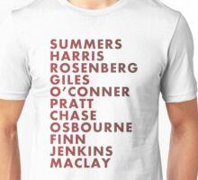 Buffy The Vampire Slayer All Business Surnames Unisex T-Shirt