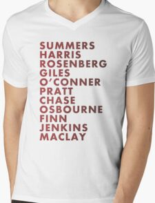 Buffy The Vampire Slayer All Business Surnames Mens V-Neck T-Shirt