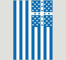 US Flag Greece Unisex T-Shirt