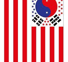 US Flag Korea by viixiigfl