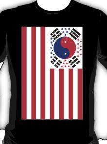 US Flag Korea T-Shirt