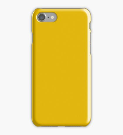 PURE COLOR-CHROME YELLOW iPhone Case/Skin
