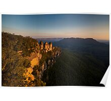 The Three Sisters, NSW Poster