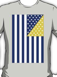 US Flag Bosnia T-Shirt