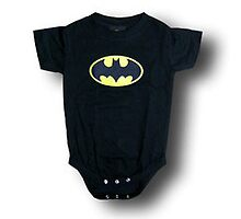 Batman Classic Logo Infant Onesie by simplysuperhero
