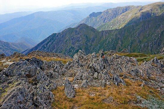Rocky Ridges by Harry Oldmeadow