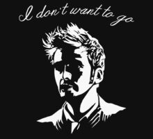 Tenth Doctor - I don't want to go by sugarpoultry