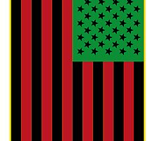 US Flag Africa by viixiigfl
