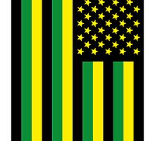 US Flag Jamaica by viixiigfl