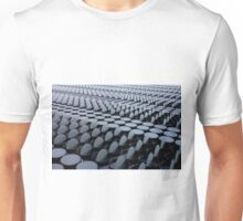 Structure with Round Windows abstract Unisex T-Shirt
