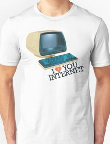 Internet Retro Love T-Shirt