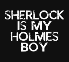 Sherlock is my Holmes Boy by dhoogstra