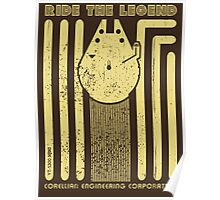 Ride the legend Poster