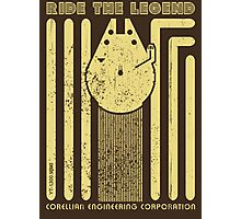 Ride the legend Photographic Print