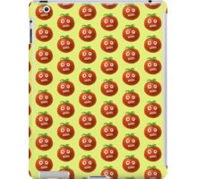 Funny Cartoon Tomato Pattern iPad Case/Skin