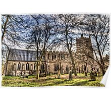 St Marys Church Great Dunmow Poster