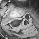 Hog Skulls by Liz Worth