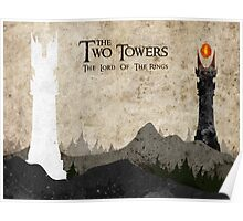 The Two Towers Poster