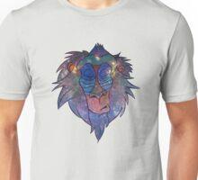 Meditating baboon Unisex T-Shirt