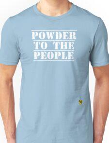 Powder to the people - Rave Veteran T-Shirt
