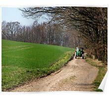 German Farm Life  Poster