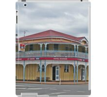 Hotel Radnor, Blackbutt, Queensland, Australia iPad Case/Skin
