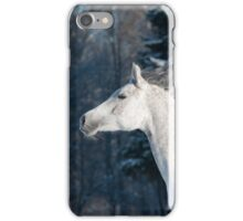 white horse iPhone Case/Skin
