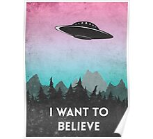 I want to believe UFO1 Poster