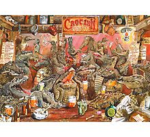 Crocodile Bar! Photographic Print