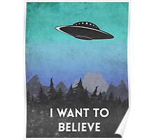 I want to believe UFO2 Poster
