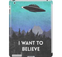 I want to believe UFO2 iPad Case/Skin