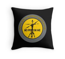 Inline Skating - My Performance Enhancement Drug Throw Pillow
