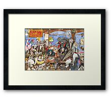 The bird bar Framed Print