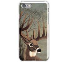 Buck with big racks iPhone Case/Skin