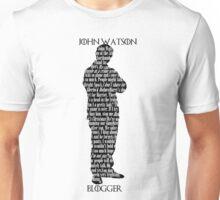 John Watson: Blogger Unisex T-Shirt