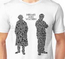 Sherlock and John. Unisex T-Shirt