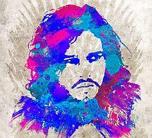 Jon Snow by Watercolorsart