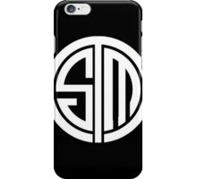 Team SoloMid Logo (WHT) iPhone Case/Skin