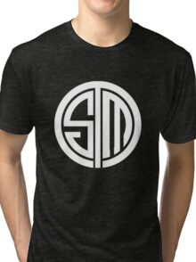 Team SoloMid Logo (WHT) Tri-blend T-Shirt