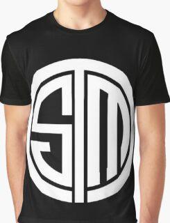 Team SoloMid Logo (WHT) Graphic T-Shirt