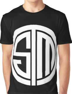 Team SoloMid Logo (WHT) Graphic T-Shirt