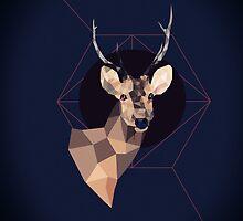 Dark Deer by roxycolor