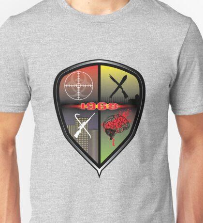 1968 Survival Zombie Crest Unisex T-Shirt