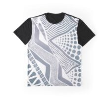 Tribal Grey Graphic T-Shirt