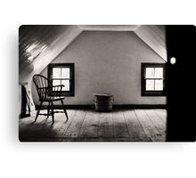 The Room Upstairs Canvas Print