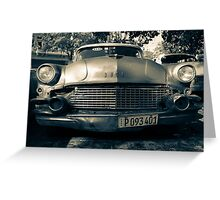 Buick Chrome  Greeting Card