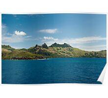 Waya island, Fiji Poster