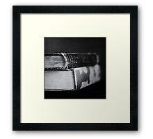 Volumes Framed Print