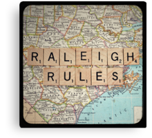 Raleigh Rules Canvas Print